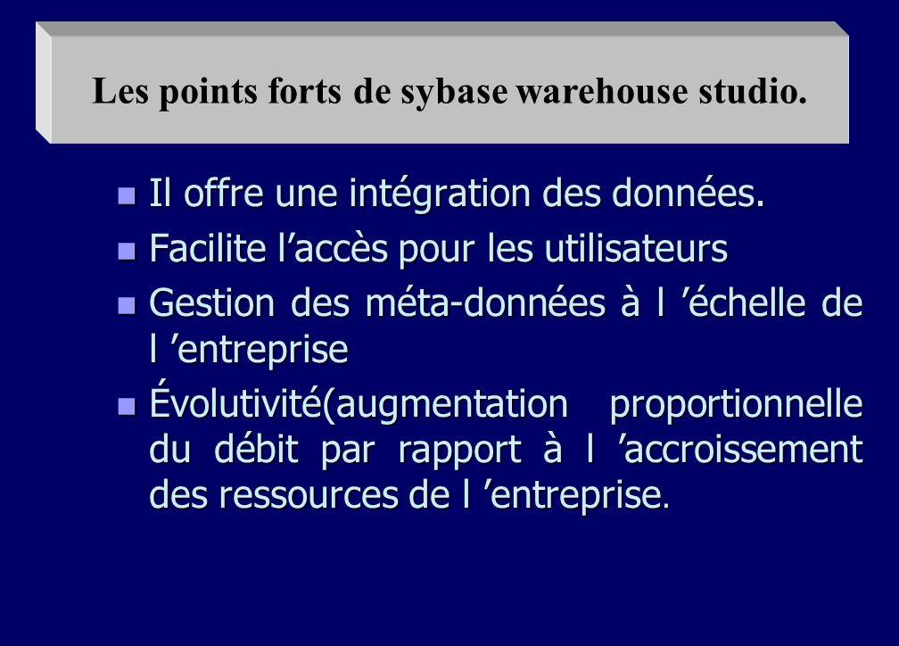 n 5 - ADMINISTRER : n La clé de l administration réside dans les méta-données qui transforment le contenu du DW de manière compréhensible aux utilisat