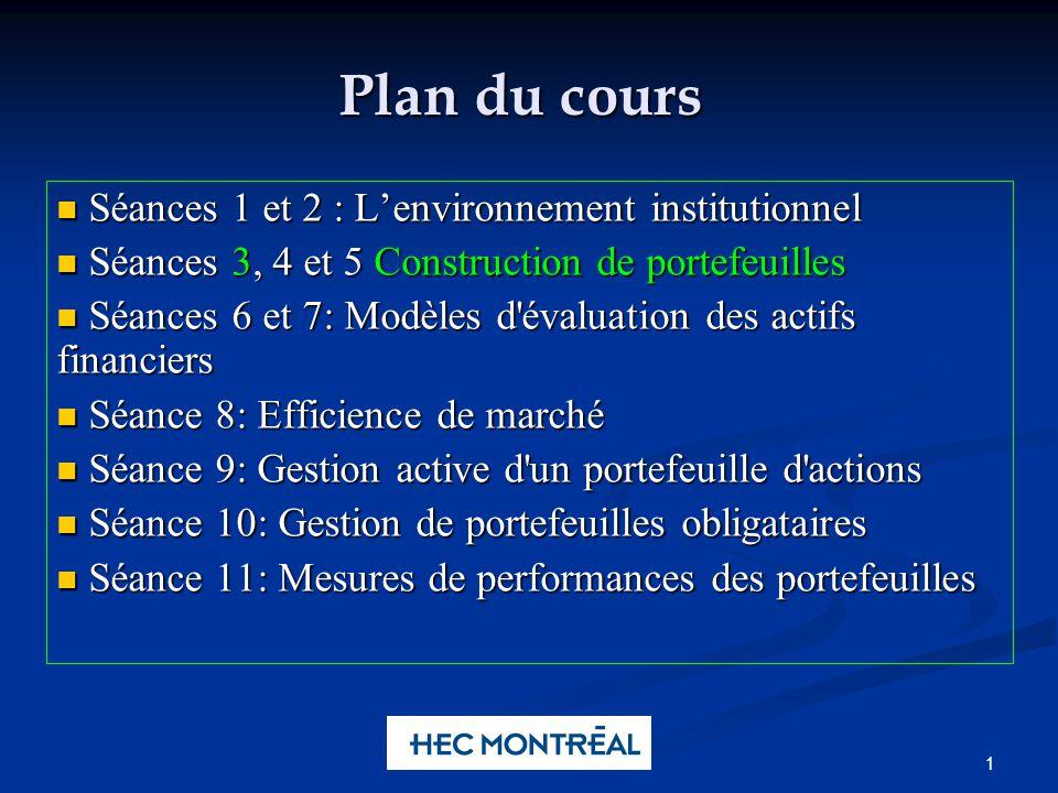 Albert Lee Chun Portfolio Management 2 Le risque en fonction du nombre dactions 7-2