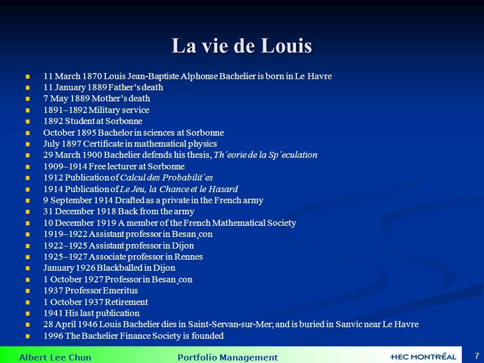 Albert Lee Chun Portfolio Management 48 Tests sur la forme semi-forte d`efficience Lanalyse fondamentale a besoin de beaucoup plus dinformation que de lanalyse technique.
