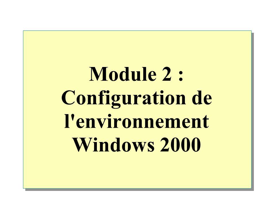 Atelier C : Configuration des options Internet