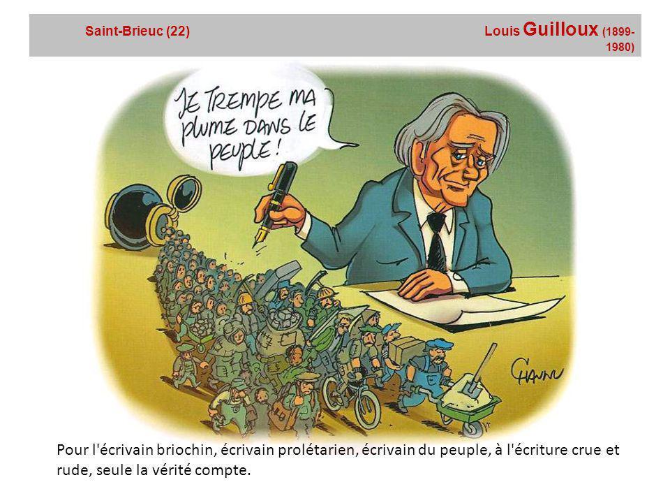 Fougères (35) Jean Guéhenno (1890-1978) Fidèle à ses origines, l'écrivain a fait graver les initiales de son père ouvrier syndicaliste sur son épée d'