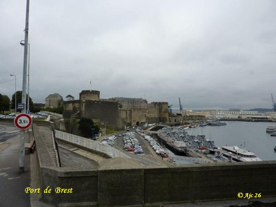 Brest Remorqueur dintervention Abeille Bourbon ( RIAS ) Long 80 m. Force de traction 200 t équipage 12 hommes © Ajc 26