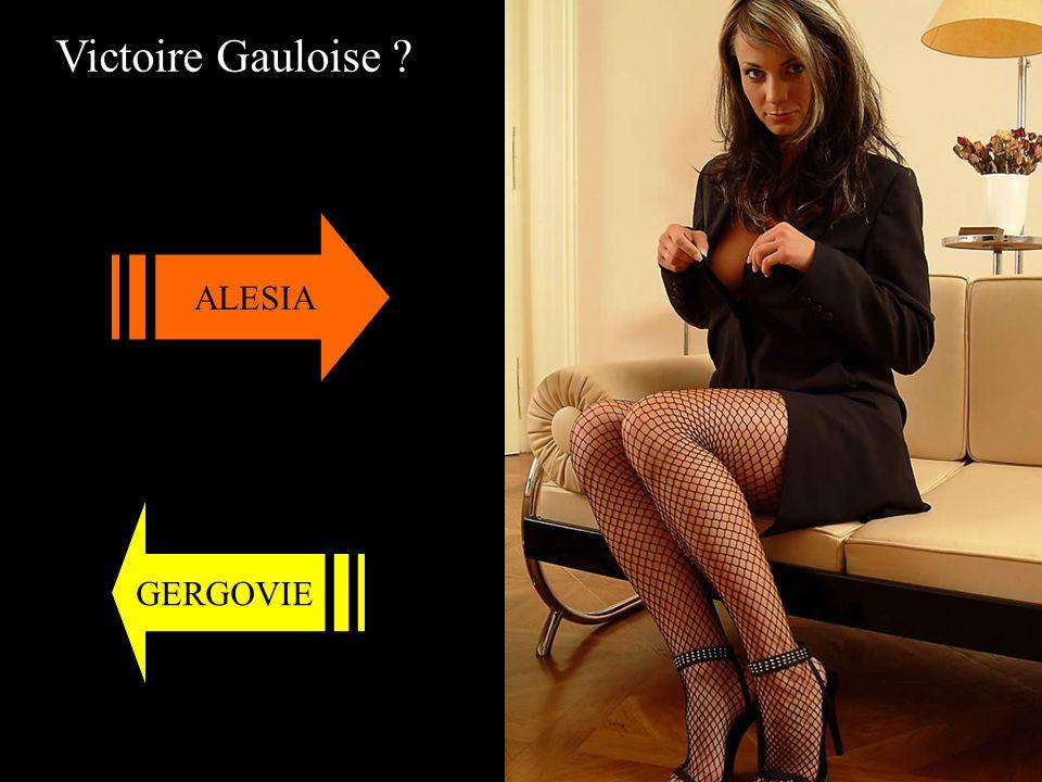 Victoire Gauloise ? ALESIA GERGOVIE