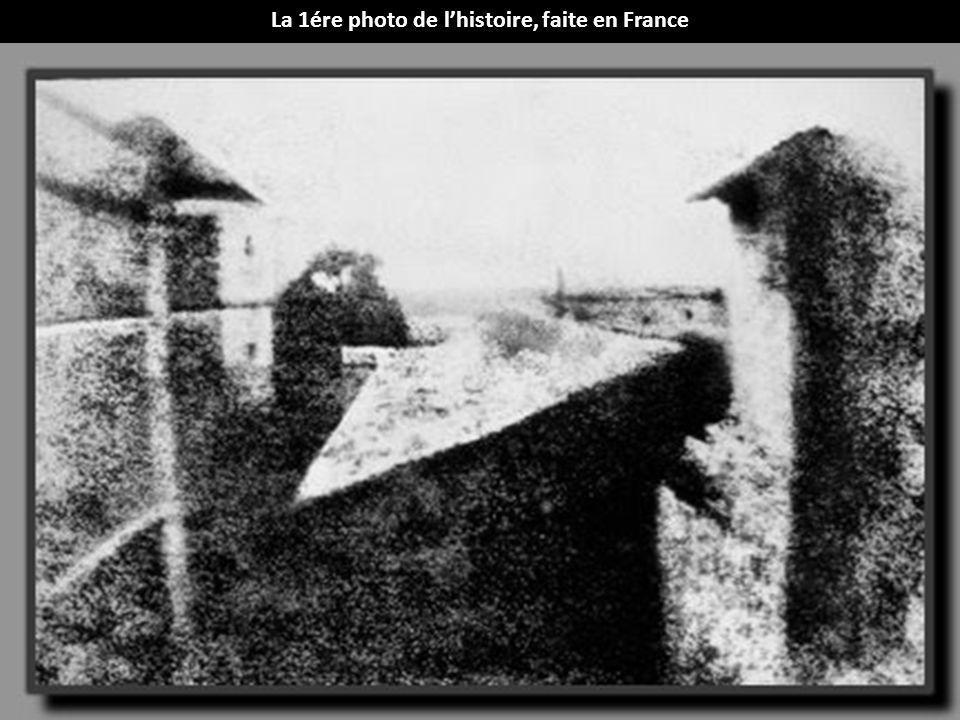 La 1ére photo de lhistoire, faite en France