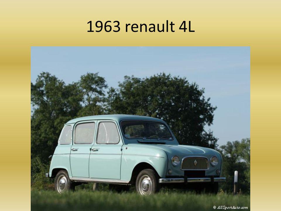 1963 renault dauphine