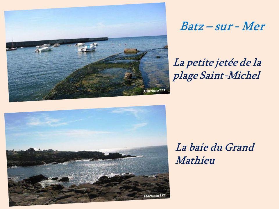 Batz-sur-Mer mulon de sel. et les marais salants