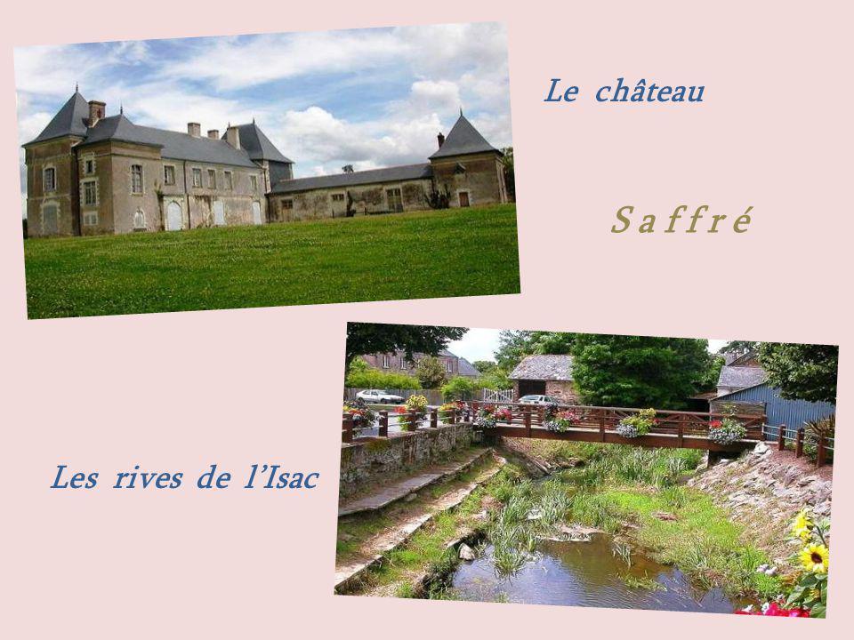 Le château Les rives de lIsac S a f f r é