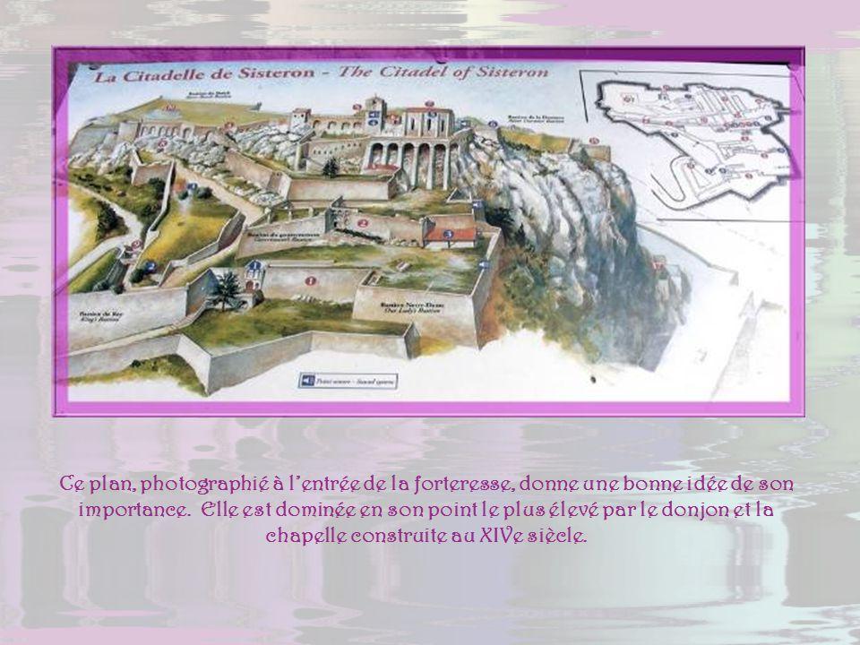 Ce site a été fortifié de tout temps. Il ne reste rien de loppidum des Voconces, rien du castrum romain, pas davantage du castel du Haut Moyen Age. La
