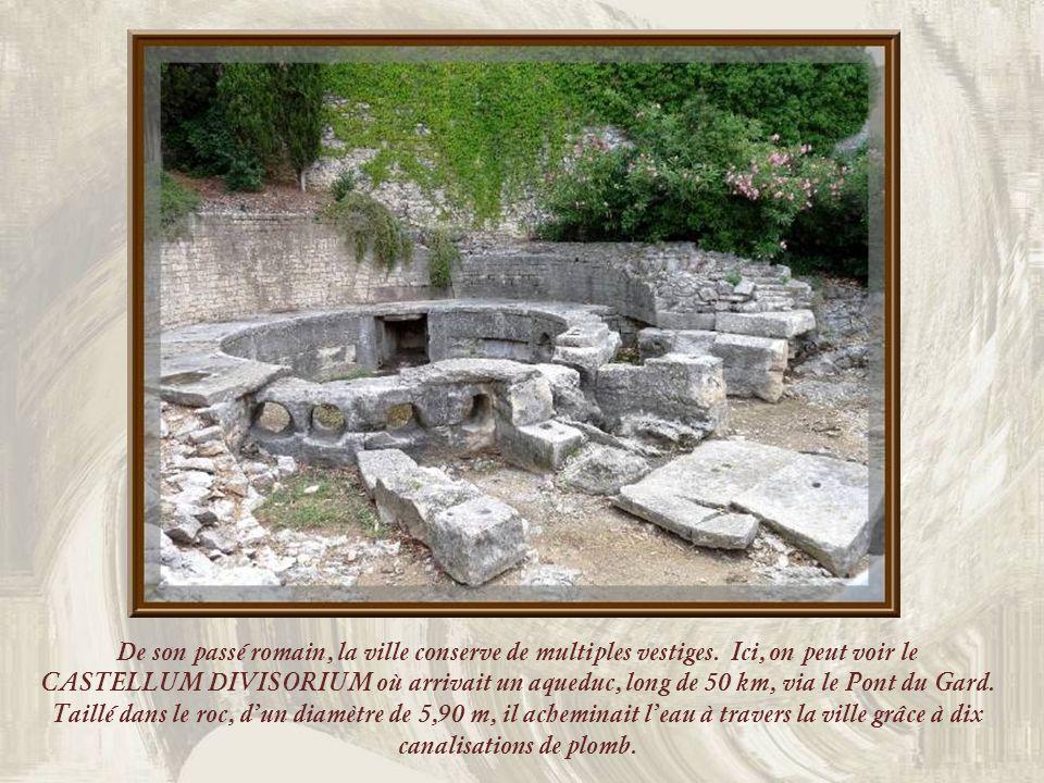 De son passé romain, la ville conserve de multiples vestiges.