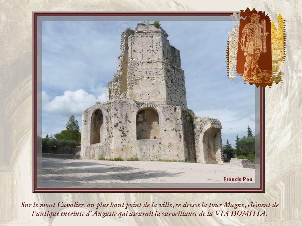 De son passé romain, la ville conserve de multiples vestiges. Ici, on peut voir le CASTELLUM DIVISORIUM où arrivait un aqueduc, long de 50 km, via le