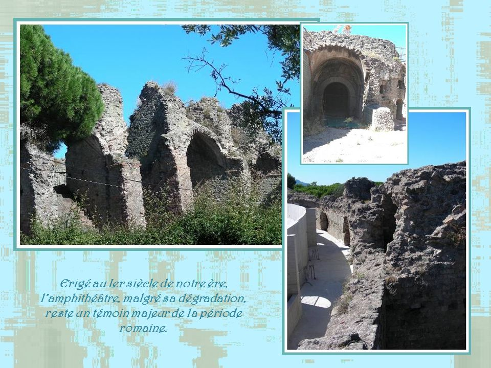 Fréjus, ville qui natteint pas les 55 000 habitants, possède une histoire de 2 000 ans, car elle fut fondée au Ier siècle av. J.-C.. Elle a dailleurs