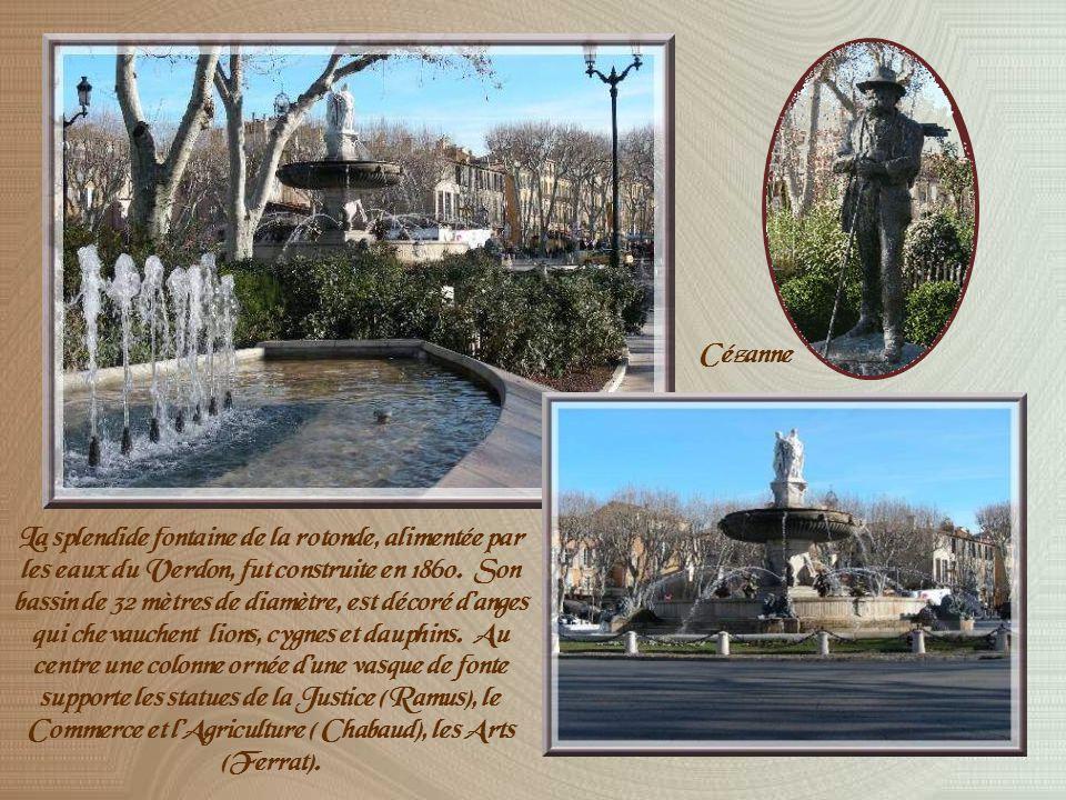 Oui, Aix-en-Provence est une ville que jaime… Cela va faire bientôt cinq ans que jy suis installée et je ne me lasse pas de my promener.