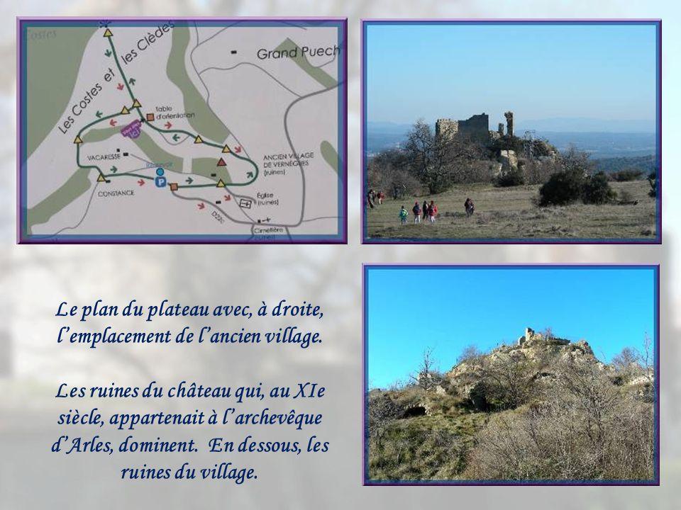 Nous approchons du point culminant, le plateau du Grand Puech à 394 m. Brrr…