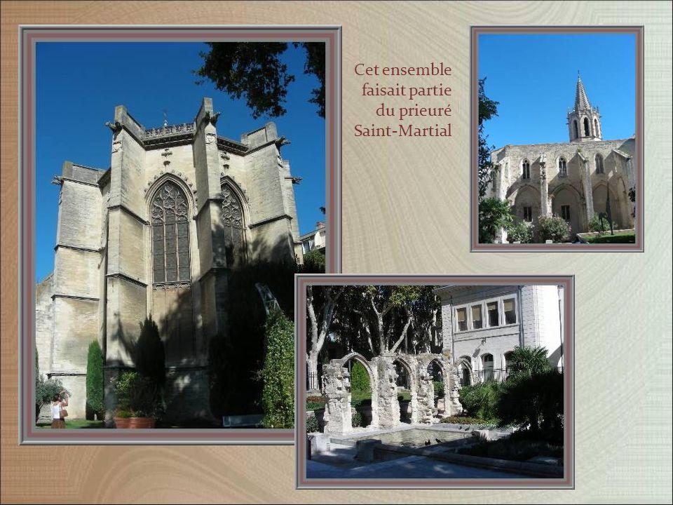 Le temple Saint-Martial est occupé par lEglise réformée de France, depuis 1881.