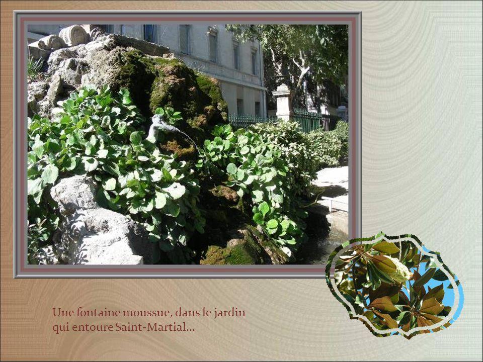 Cet ensemble faisait partie du prieuré Saint-Martial