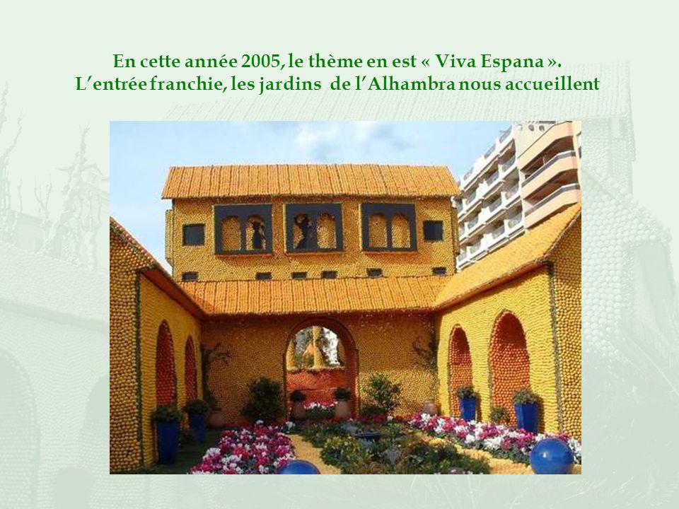 En cette année 2005, le thème en est « Viva Espana ».