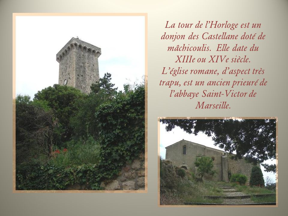 A 6 km du village précédent, nous trouvons Saint-Martin-de-Bromes.