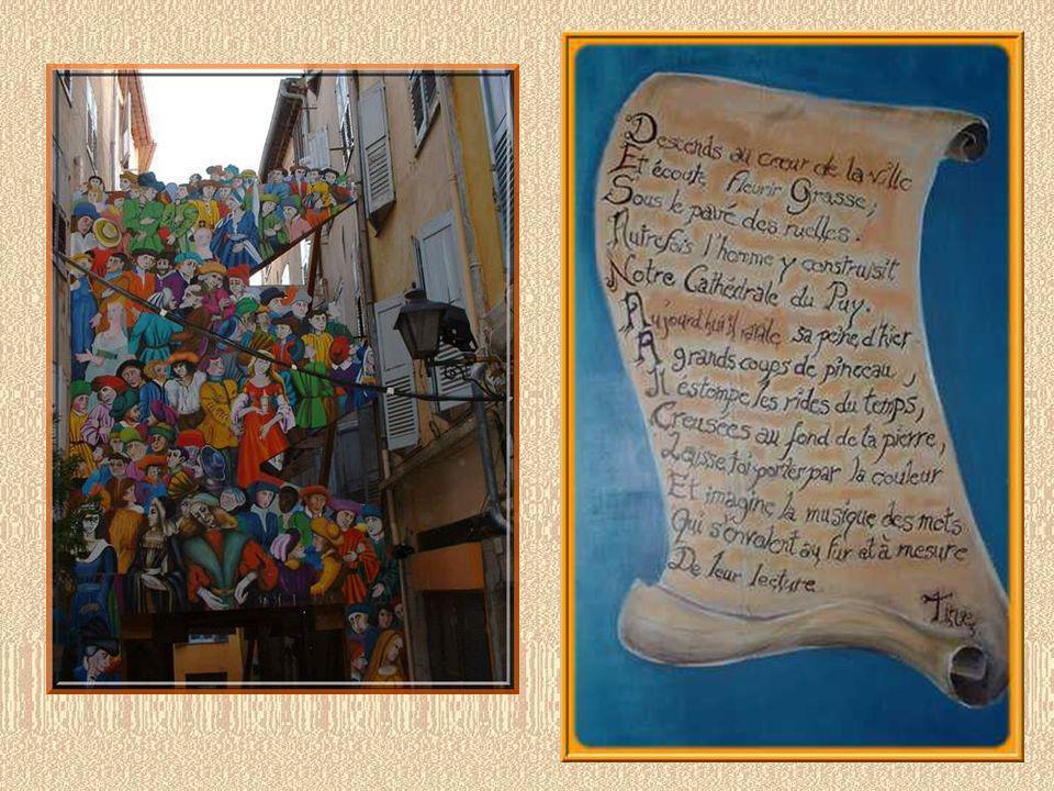 Et lon sait aussi fêter à Grasse! Et manifester laffectueuse admiration pour sa ville…