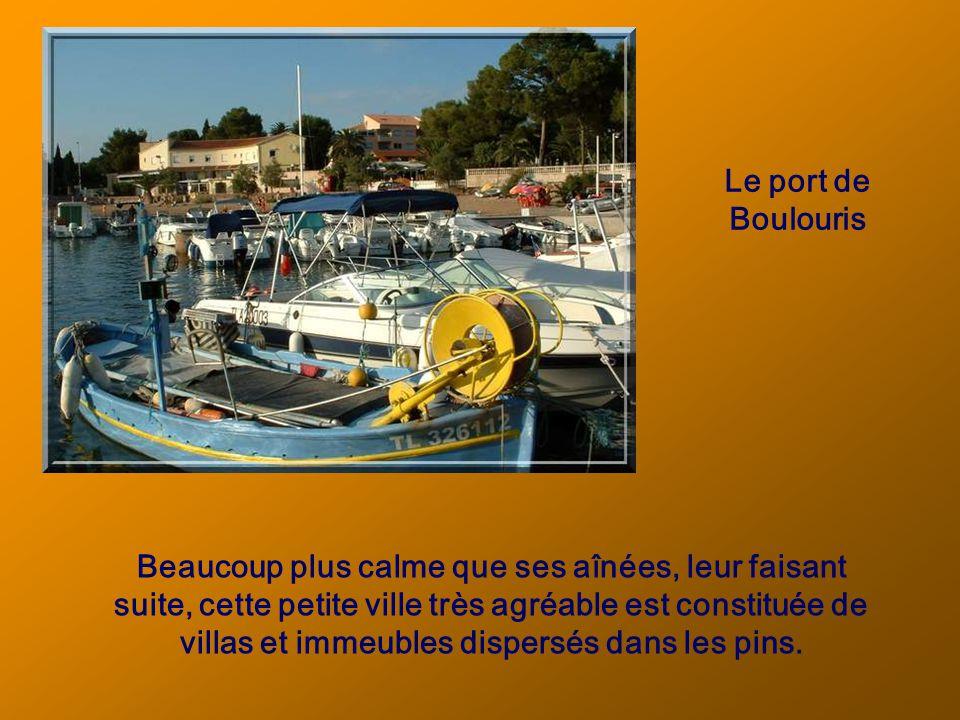 Le port de plaisance de Fréjus.