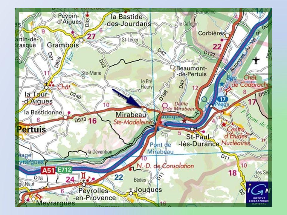 Mirabeau est un charmant village situé à lextrémité est du parc du Luberon, un peu en retrait des voies principales. Il offre, toutefois, la particula