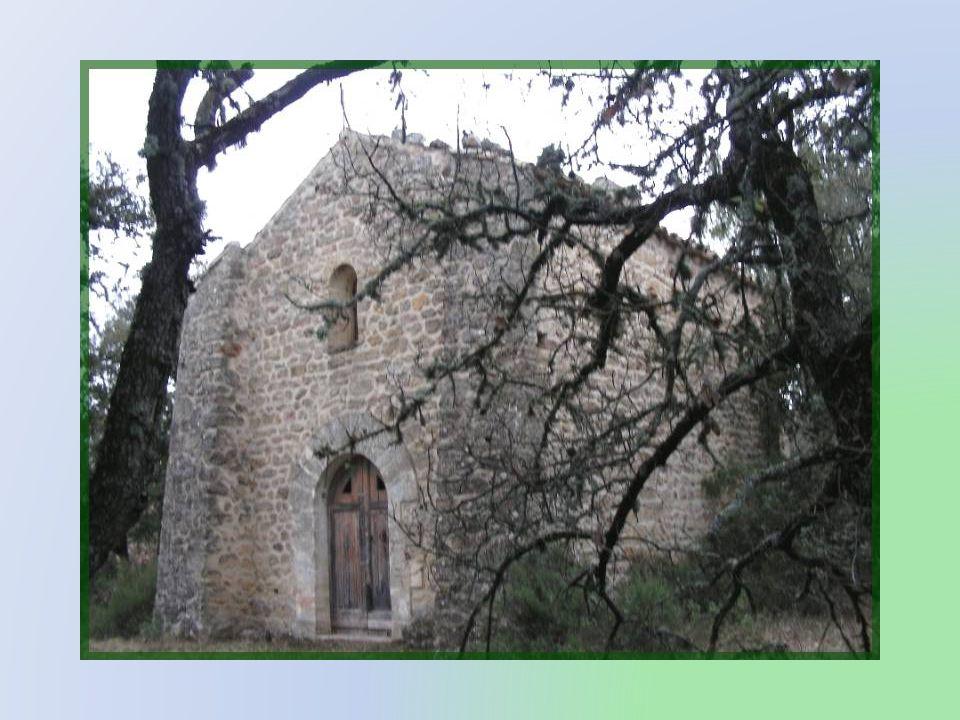 Revenant de notre périple dans la campagne, au nord- est de Mirabeau, nous repartons vers le sud pour découvrir un autre joyau, bien caché, en sous-bois et aucunement indiqué sur la route, la chapelle Saint- Michel.