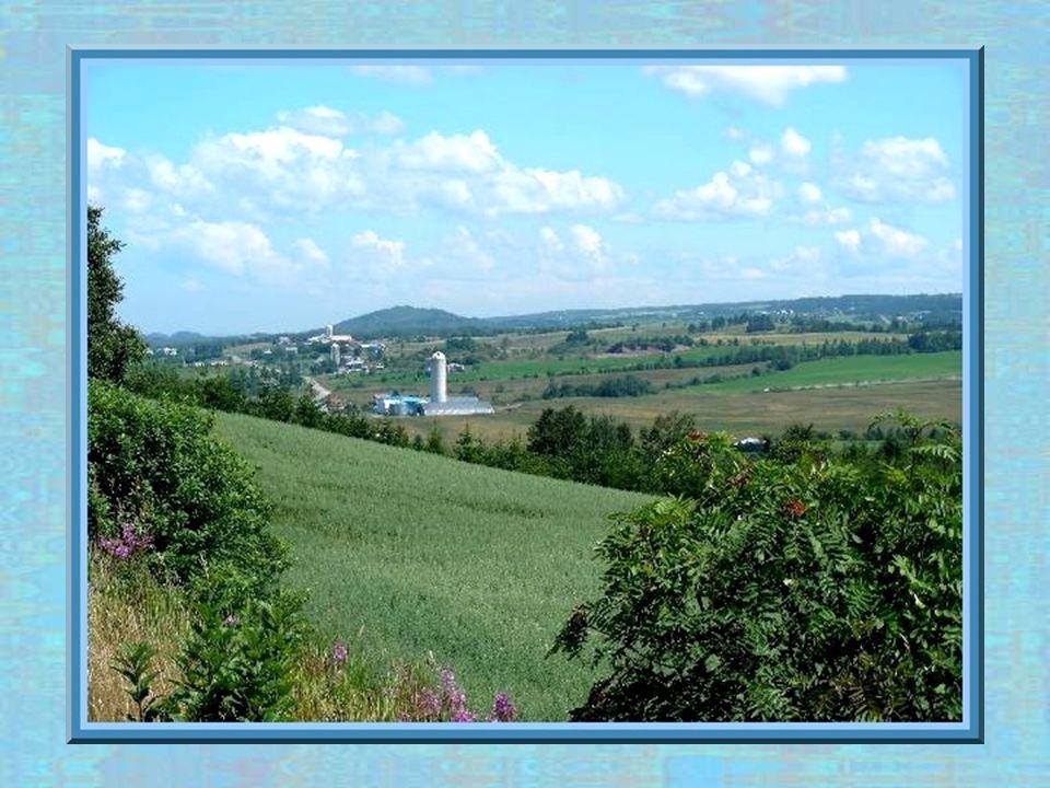 Découverte de la route den haut, le village de Saint-Fabien.