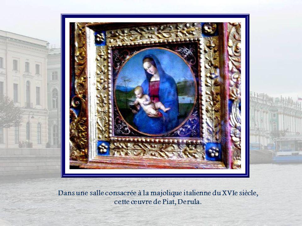 Les loges de Raphaël ont été créées, entre 1787 et 1792, et sont ornées de copies de fresques du Vatican.