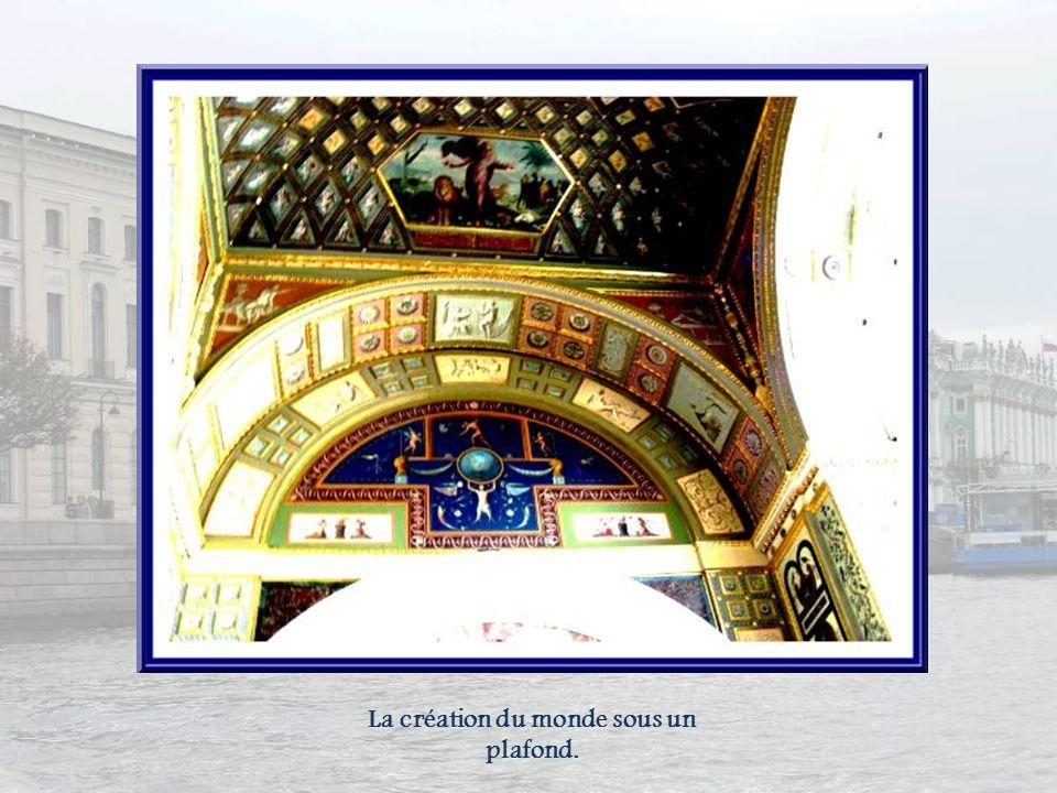 Dans une salle consacrée à la majolique italienne du XVIe siècle, cette œuvre de Piat, Derula.