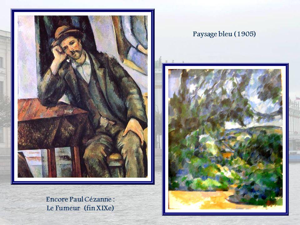 Bien sûr, lAixoise dadoption que je suis ne pouvait manquer de rechercher les œuvres de Paul Cézanne, déplorant que le musée Granet dAix-en-Provence n