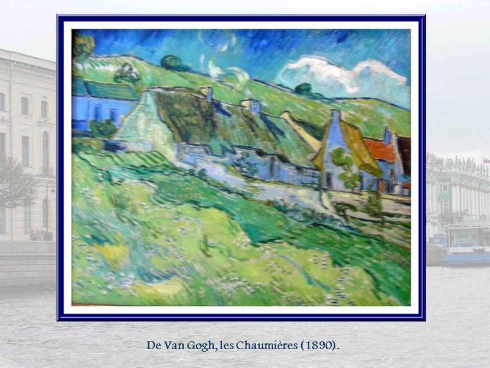 Encore Paul Cézanne : Le Fumeur (fin XIXe) Paysage bleu (1905)
