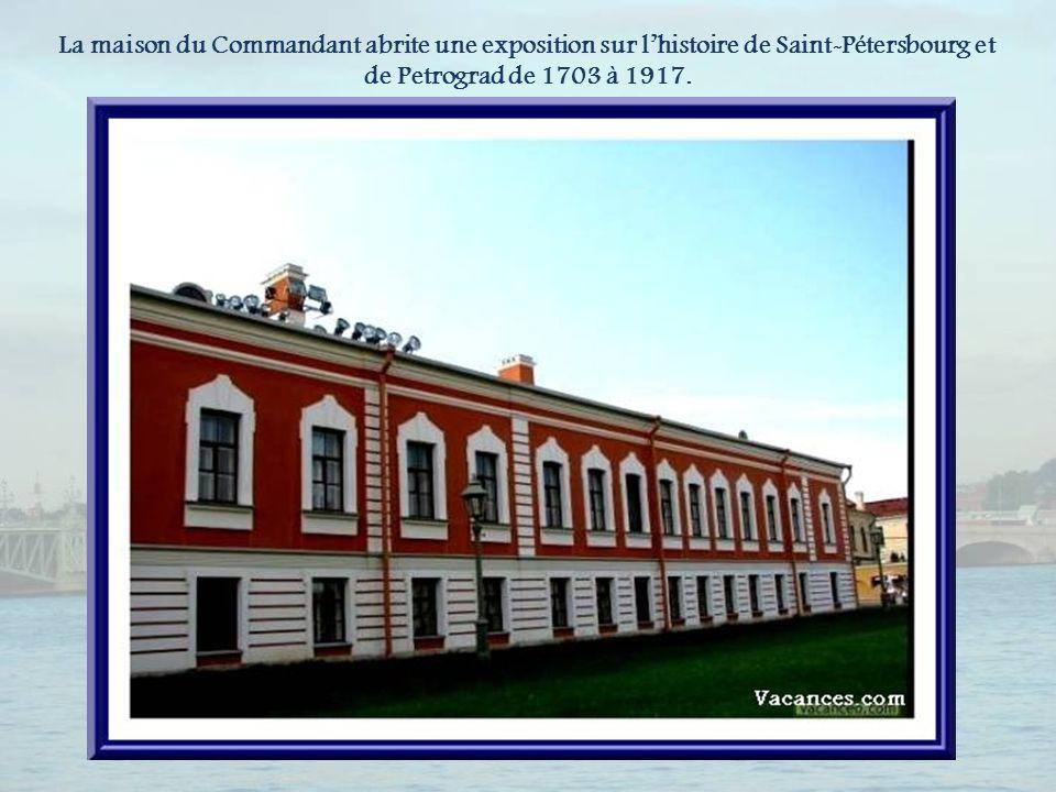 Le corps de Garde qui abrite maintenant la direction du musée.