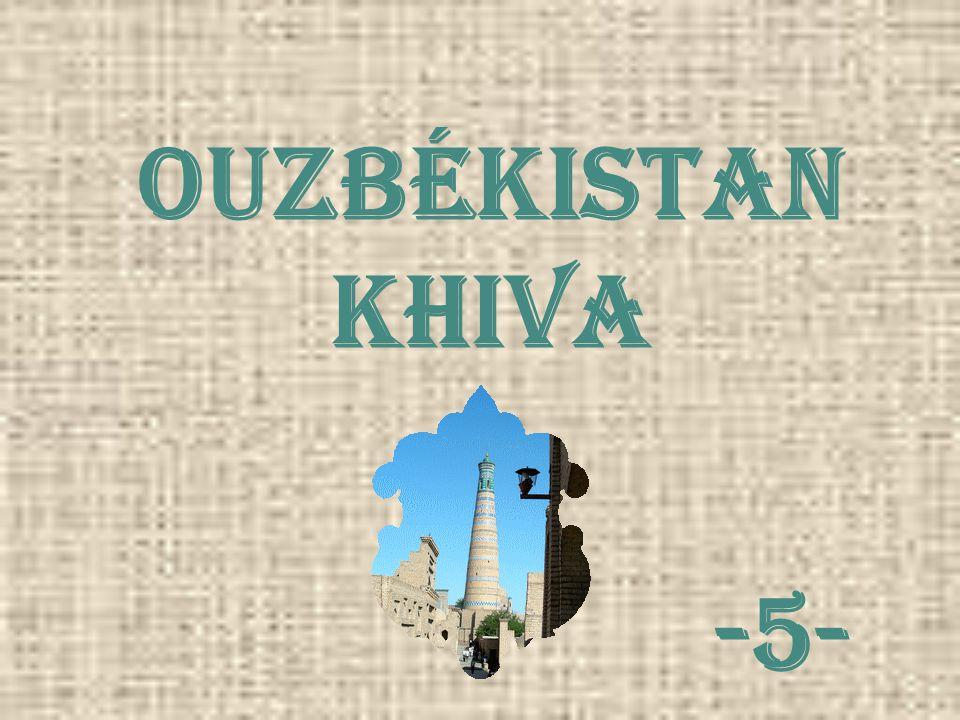 Ouzbékistan khiva -5-