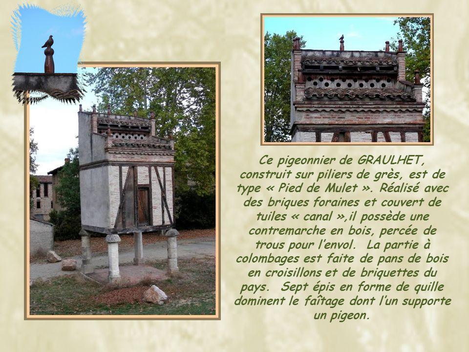 Concernant ce pigeonnier de Lavaur, je trouve intéressant dajouter quelques informations fournies par un correspondant: cette maison fut le siège des