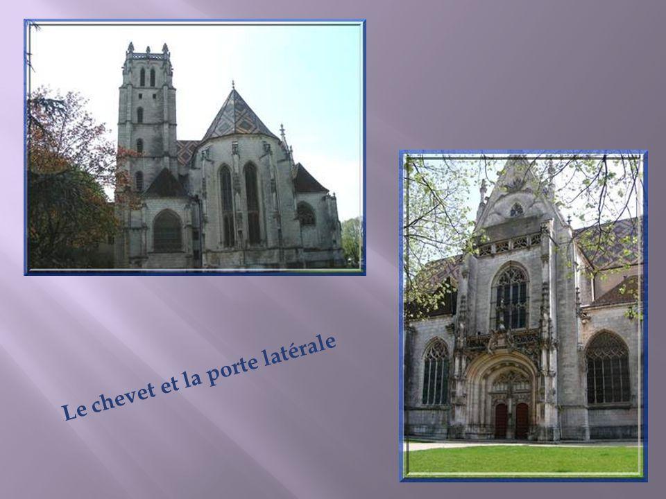 La chapelle de Marguerite dAutriche est dédiée à la Vierge.