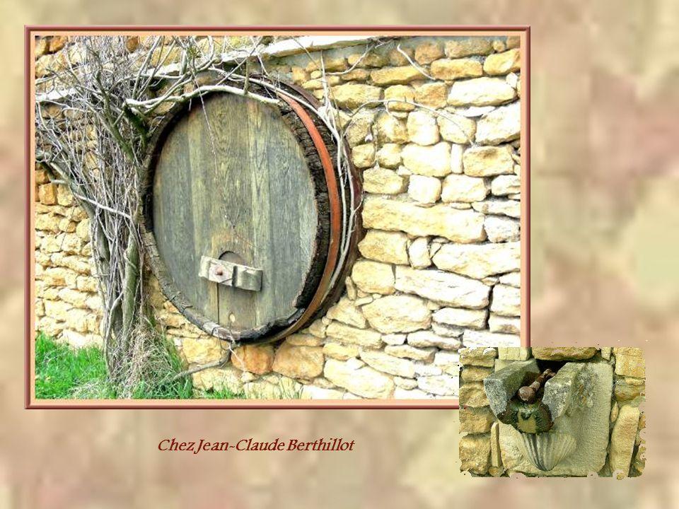 Comme je lai mentionné, on est encore en Bourgogne. Il fut un temps où les collines étaient couvertes de vignes. Petite fille, jai encore vu dans la m