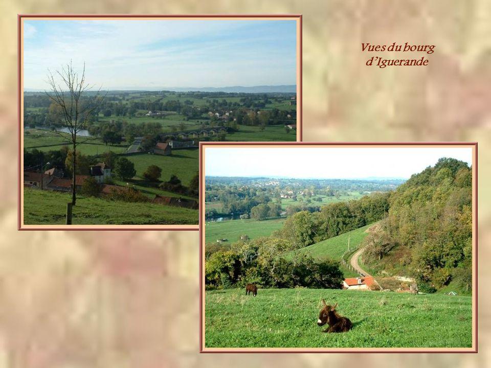 Sur une colline face à celle de léglise dIguerande, ce monument, dédié à Notre-Dame de la Paix; domine le village et la vallée de la Loire.