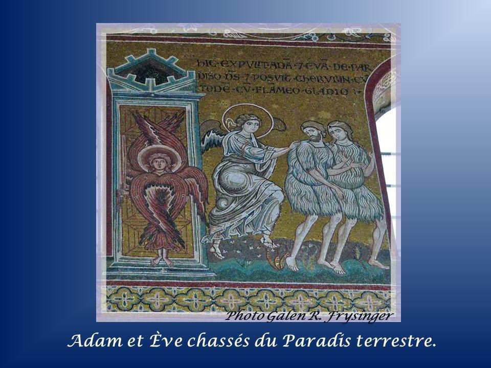 Photo Galen R. Frysinger La tentation par le Serpent : le péché originel.