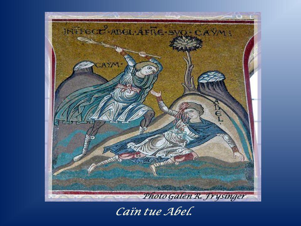 Adam et Ève chassés du Paradis terrestre. Photo Galen R. Frysinger