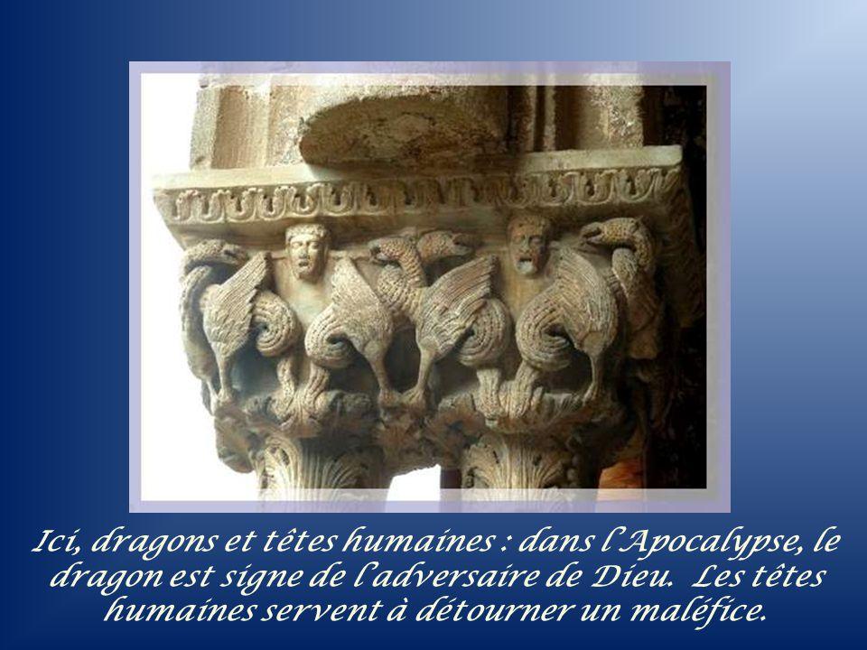 A droite, remarquez la base de larcade coupée, signe quelle se continuait par une ancienne colonne.