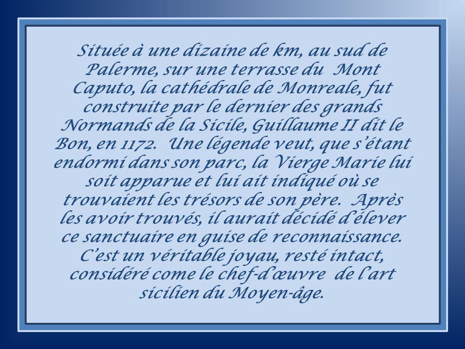 CATHÉDRALE ET CLOÎTRE DE MONREALE