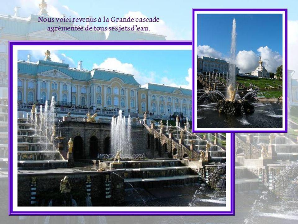 La fontaine française du Grand parterre