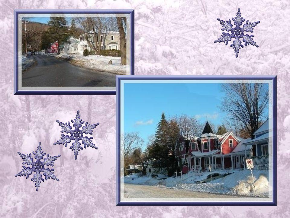 La partie ouest du village, encore désignée comme le côté américain, comporte de magnifiques demeures, au bord du lac ou le dominant.