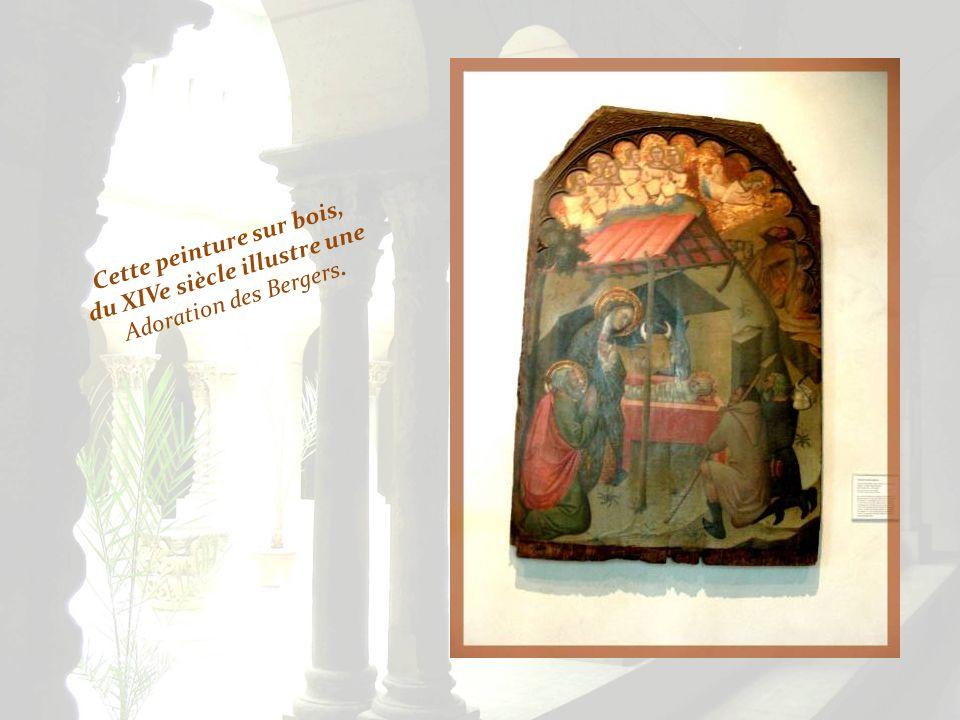 A gauche, le deuil de la Vierge, du XIIIe siècle, provient du Tyrol. Ci-dessous, sculptée dans le chêne, la mort (Dormition) de la Vierge, du XVe sièc