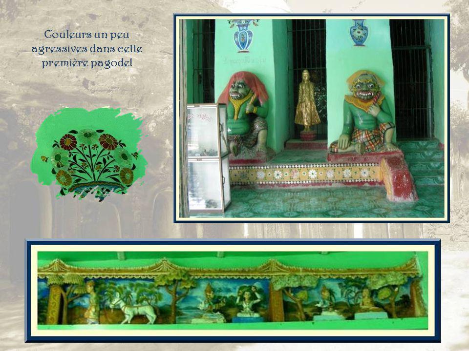 Au début du trajet, ce bouddha un peu particulier pour nous accueillir, mais aussi un grand nombre de singes…