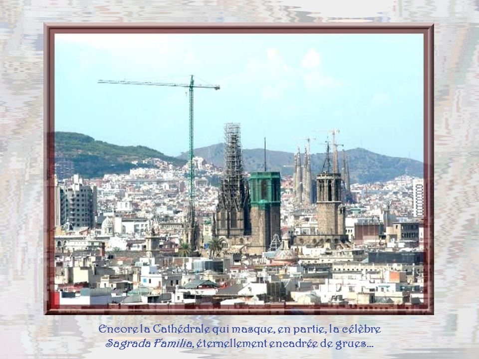 Le Barri gotic, vieux quartier, avec sa cathédrale en restauration, puis celui de la Ribera, quartier historique des grands marchands du Moyen-âge.
