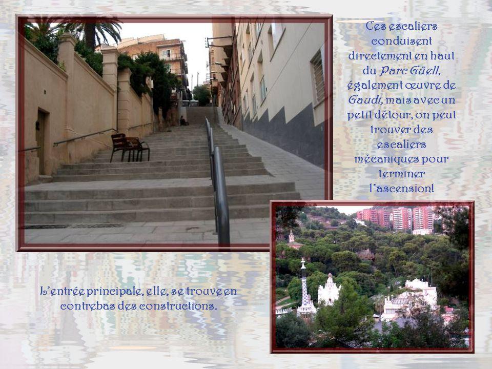 Cette église, mondialement connue sous le nom de la Sagrada Familia, est consacrée à la Sainte Famille.. Deux ans après la première pierre de la crypt