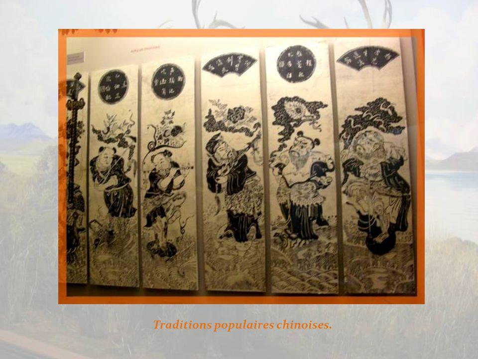 Dans le nord-est de la Chine, pays de naissance de Confucius, une chaise de mariage.