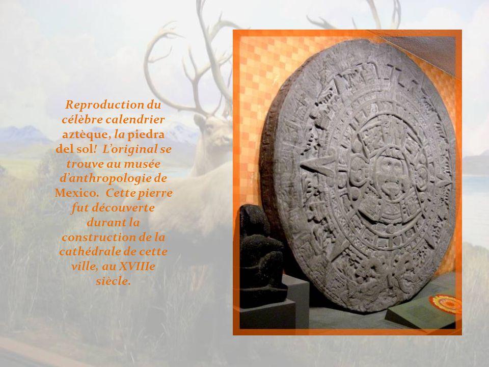 Toujours au Mexique, œuvres de la civilisation maya.