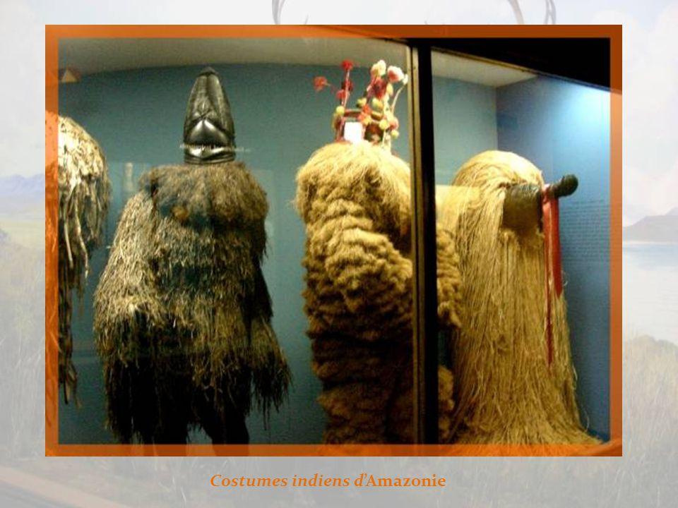 Chez les Indiens dAmazonie, costumes rituels…