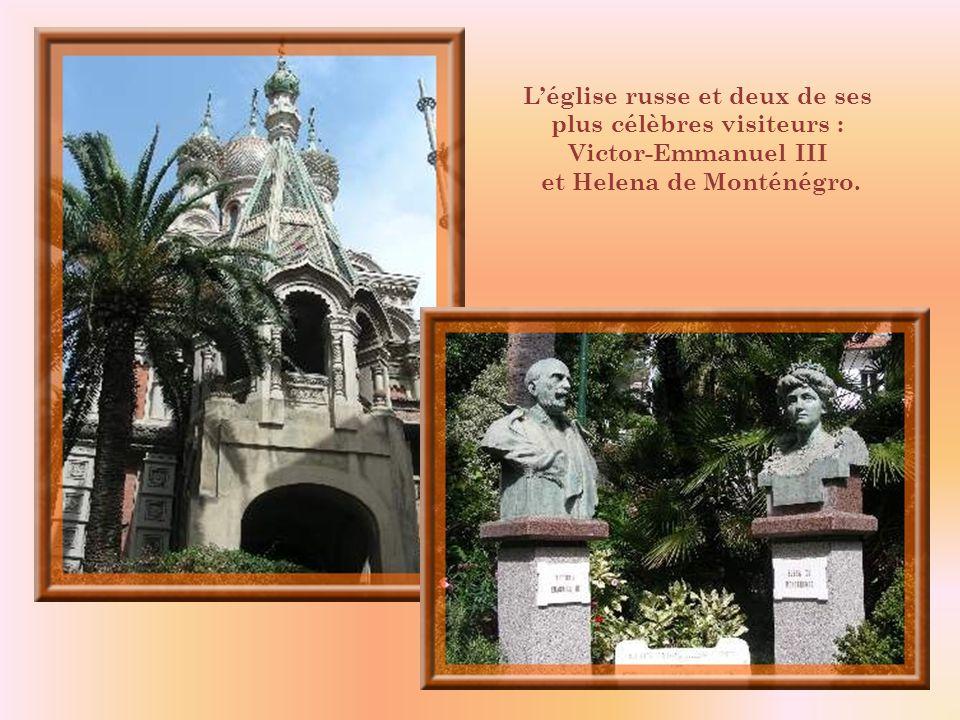A la suite de la Tsarine, San Remo reçut un afflux de visiteurs russes. Au début du siècle, ils étaient environ un millier et certains sy étaient inst